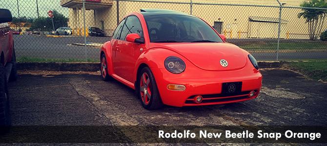 Rodolfo New Beetle Snap Orange