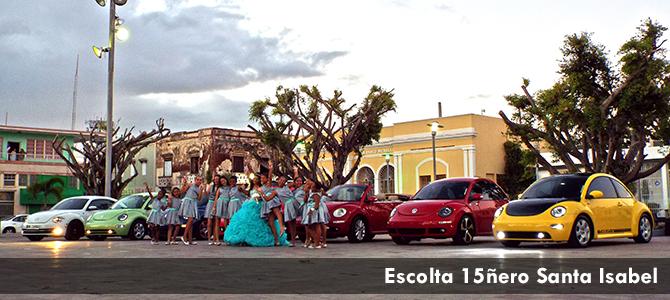 Escolta 15ñero Santa Isabel